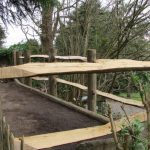 Sussex cleft chestnut fencing