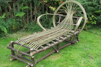 Chestnut & Hazel bowback lounger