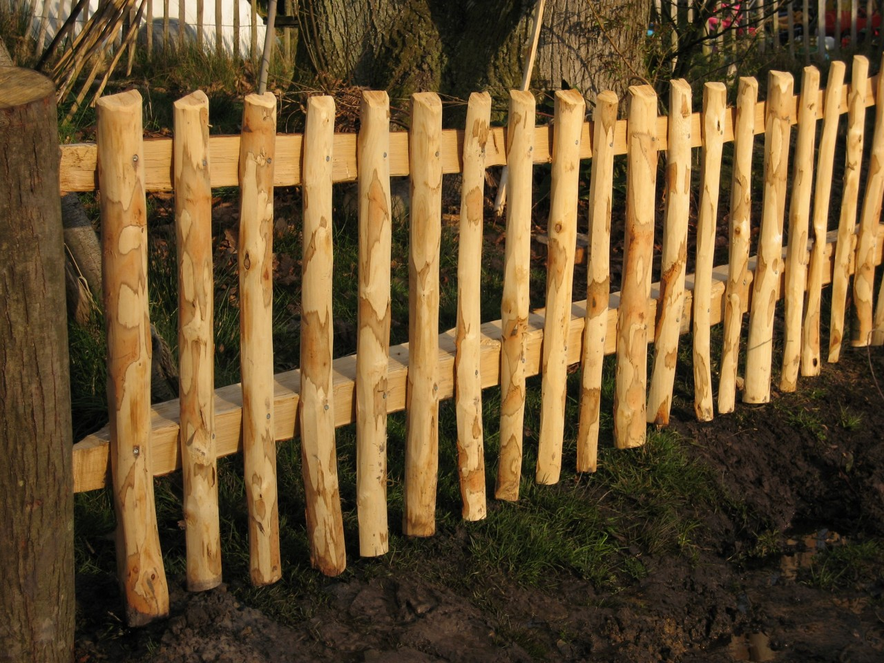 Continuous Woven Sussex Fencing Panels Ben Law