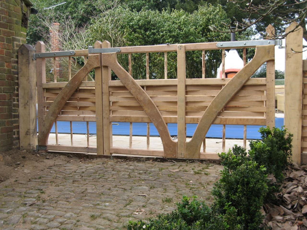 Bespoke gates and trellis